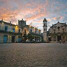 Cathedral de san Cristobal, Havana, Cuba by Darren Newbery