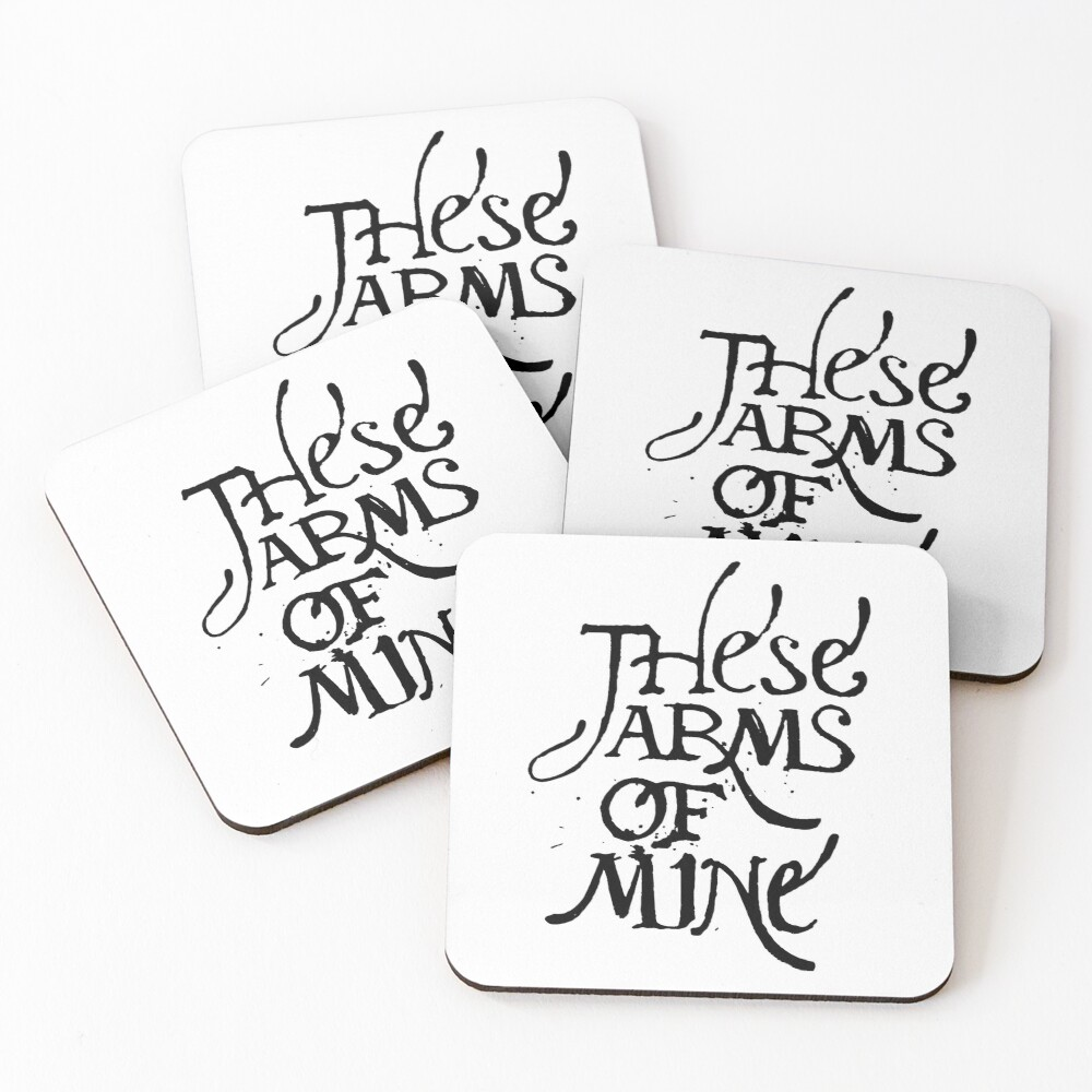 12 Monkeys - These Arms of Mine - Word of the Witness Coasters (Set of 4)