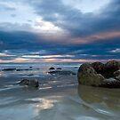 Moeraki Boulders Sunset by Darren Newbery