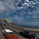 Malecon, Havana, Cuba by Darren Newbery