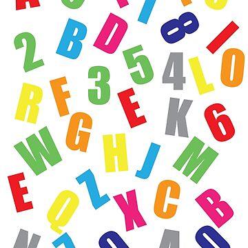Crazy Alphabet by Avance