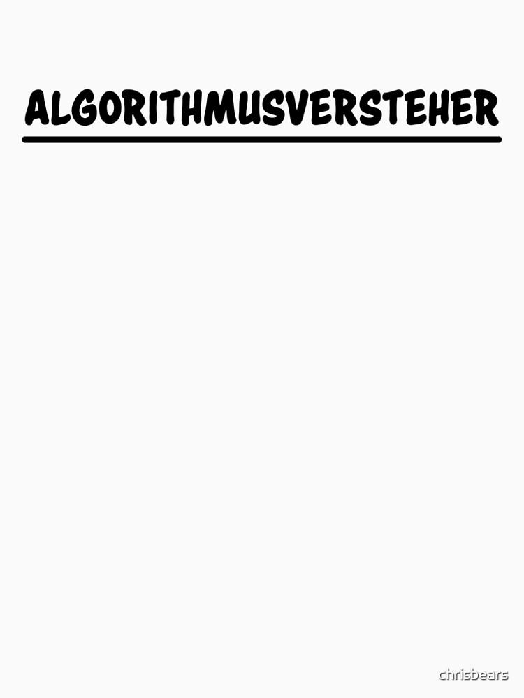 algorithm understanders by chrisbears