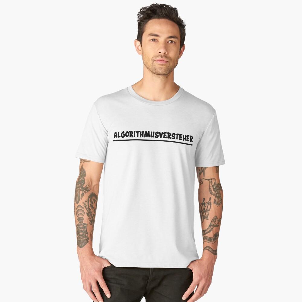 algorithm understanders Men's Premium T-Shirt Front