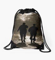 trusted companions Drawstring Bag