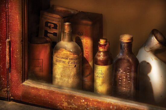 Pharmacist - Mircle Tonics by Michael Savad