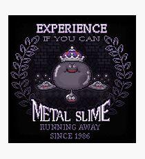 Slime Metal Photographic Print