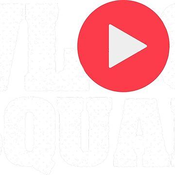 Vlogging Shirt - Vlogger Subscribe Vlog Squad by FanaticTee