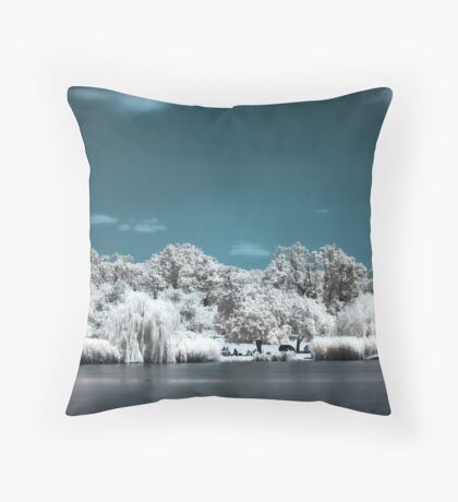 Picnic [IR] Throw Pillow