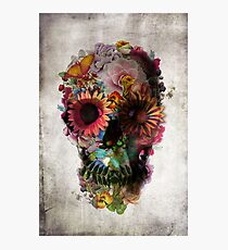 Floral Skull Photographic Print