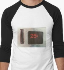25cent coin slot Men s Baseball ¾ T-Shirt bb90cdc5a