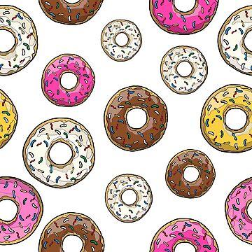 Funfetti Donuts - White by notsniwart