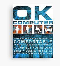 Radiohead - OK COMPUTER Canvas Print
