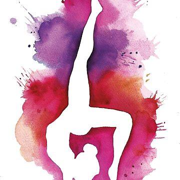 Floor gymnast by ArteLauraS