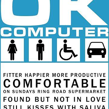 OK Computer - Radiohead by TM490