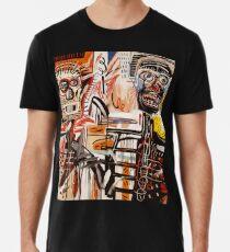 A vectorised Basquiat Men's Premium T-Shirt