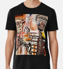 Ein vektorisierter Basquiat Premium T-Shirt