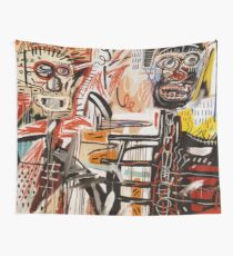 A vectorised Basquiat Wall Tapestry