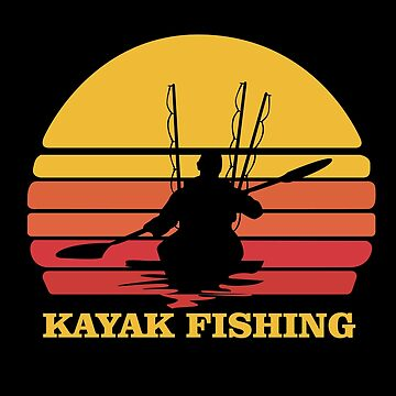 Kayak Fishing Angling Design - Kayak Fishing by kudostees