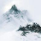 Speed Painting - Snowy Mountain von Sandra Süsser