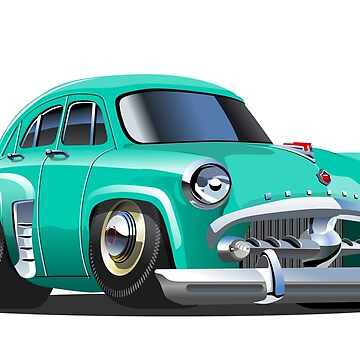 Cartoon retro car. by Mechanick