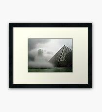 How to build a perfect pyramid (try one more time) Framed Print