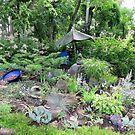 Le Jardin Bleu by Sandra Fortier