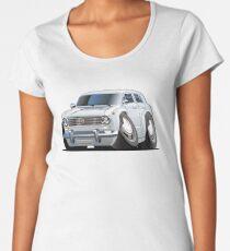 Cartoon retro car Women's Premium T-Shirt