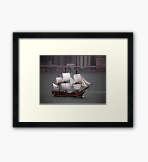 Three Master Framed Print