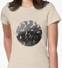 Bad Moon - White Women's Fitted T-Shirt