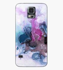 Abstrakte Aquarellmalerei Hülle & Klebefolie für Samsung Galaxy