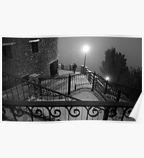 A stranger in the fog Poster