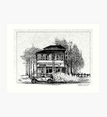 General Gordon Hotel Mackay Art Print
