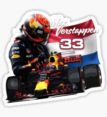 Max Verstappen Sticker