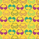 Sunglasses Print - Yellow by markrshop