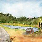 IGA's Rural Neighbor, Camano Island by Diane Hall