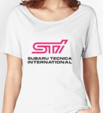 STI LOGO Women's Relaxed Fit T-Shirt