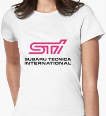 STI LOGO Women's Fitted T-Shirt