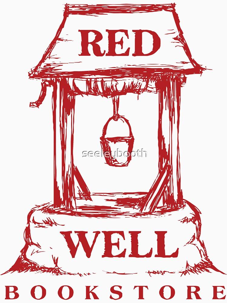12 Affen - Red Well Bookstore-Logo von seeleybooth