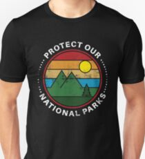 Protect Our National Parks - National Parks Gift Slim Fit T-Shirt