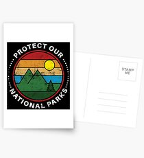 Protect Our National Parks - National Parks Gift Postkarten