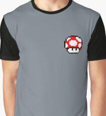 Nintendo Toad Mario Mushroom Graphic T-Shirt
