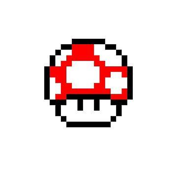 Nintendo Toad Mario Mushroom by oggi0