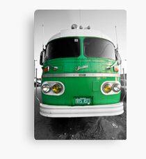 Vintage Bus Metal Print