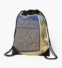 The Big Thicket In SE Texas Drawstring Bag