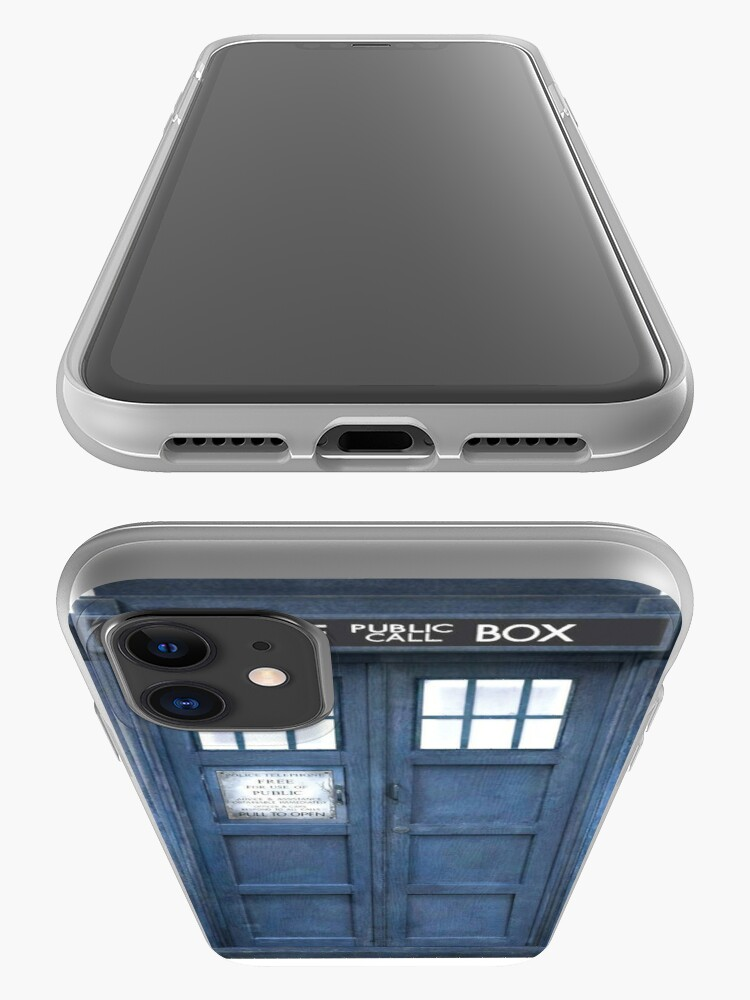 Alternate view of Dr. Who Tardis iPhone Case & Cover