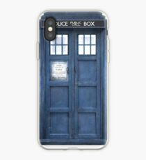 Dr. Who Tardis iPhone Case