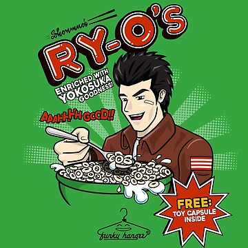 Ryo-Os Cereal! by funkyhanger