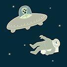 «Asesinato en el espacio, ella dibujó» de EuGeniaArt