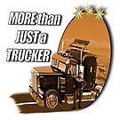 More than just a trucker in bronze by Nicole Kiefer