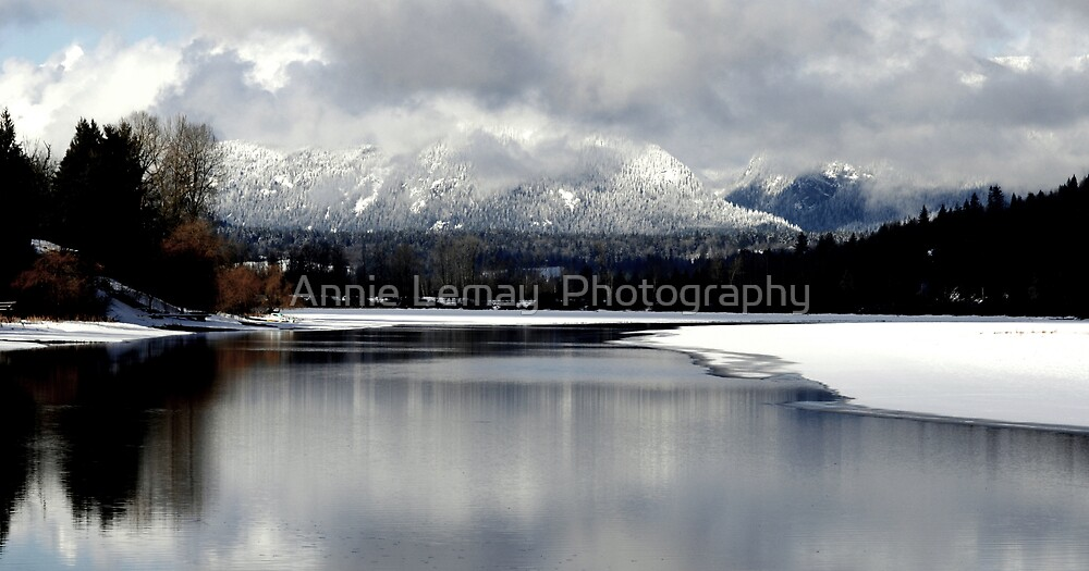 Reflections on the Lake by Annie Lemay  Photography